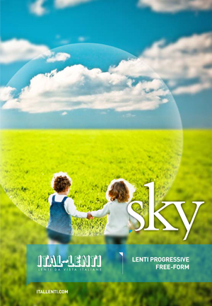 Sky - progressive lenses Free-Form